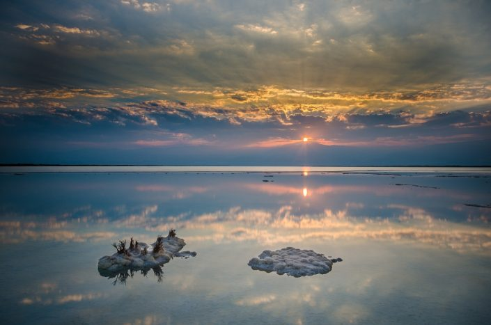 3 Point Dead Sea Sunrise