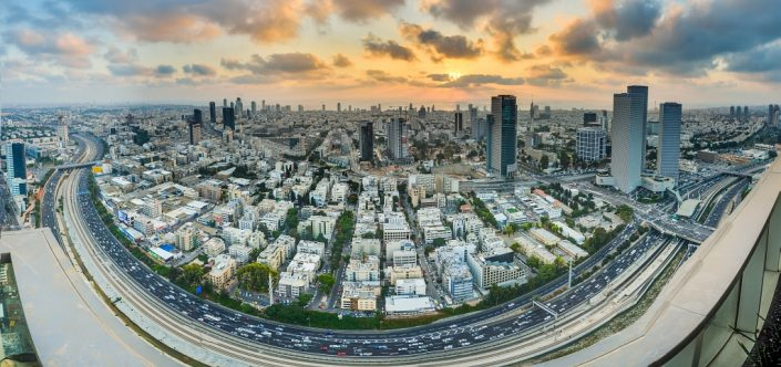 Tel-Aviv Sunset Bowl
