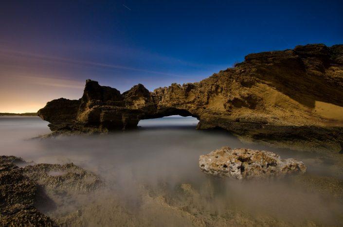 Silk Under the Arch