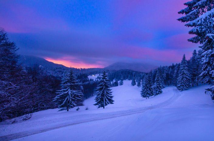 Sunrise at Trei Brazi