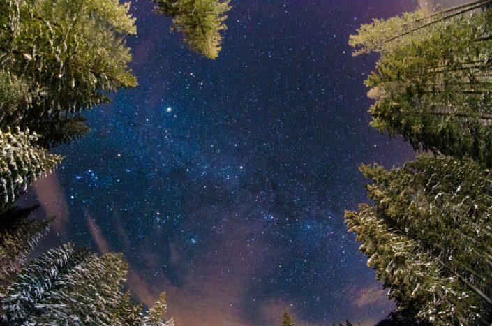 Milky Way Winter's Night