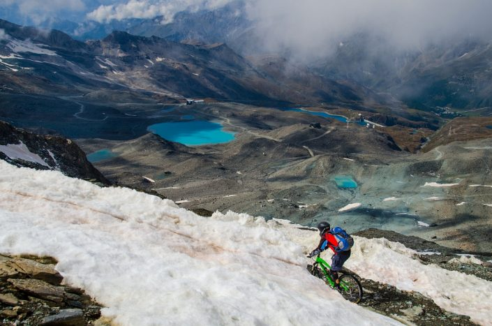 Riding in Glacial Planet