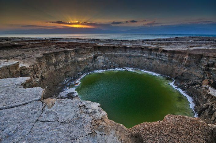 Sinkhole Sunrise