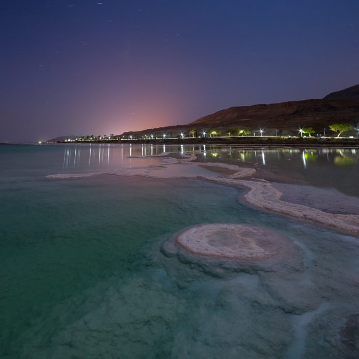 Dead Sea in the Moonlight