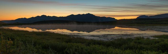 Alaska Pre-Dawn Panorama