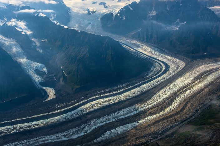 Glacial Convergence at Denali