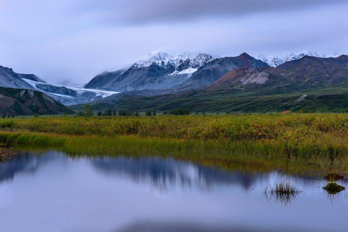 Gulkana Glacier Valley Evening