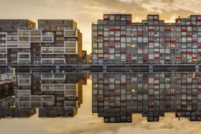 Zaandam Windows Reflection