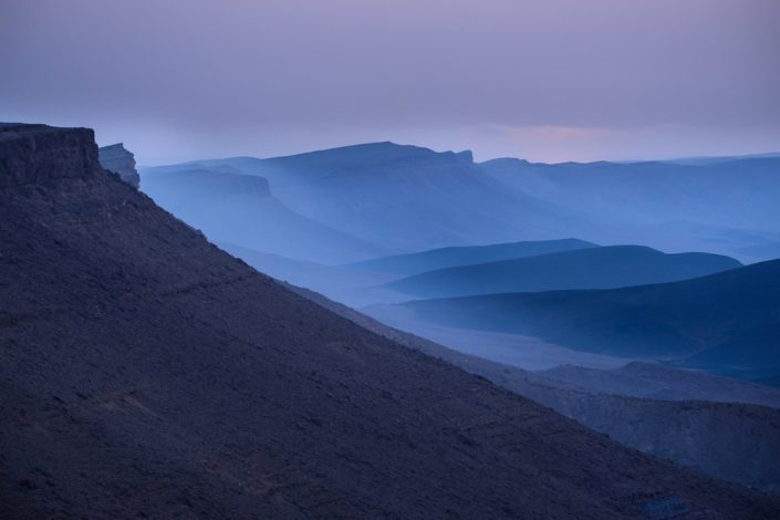 Misty Desert Morning