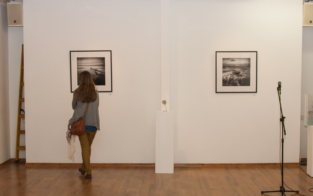 Two works at Exhibition