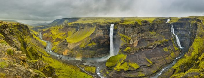 Haifoss Canyon