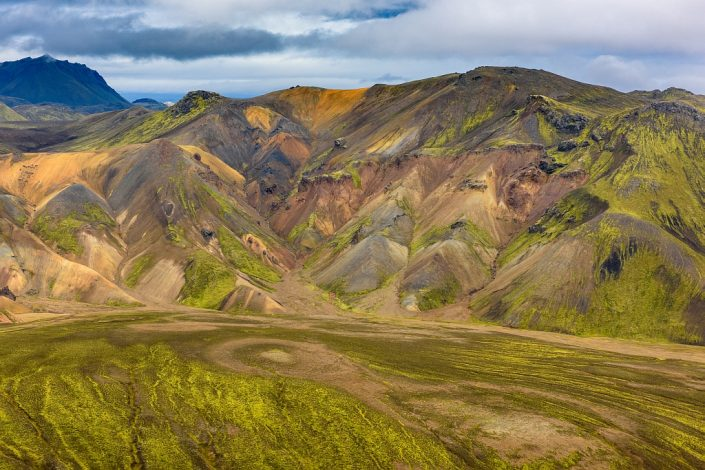 Landmannalaugar valley view