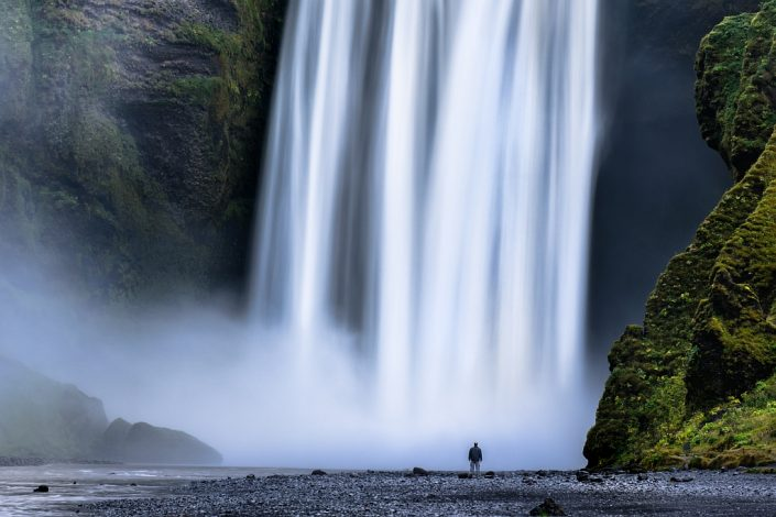 The power of Skogafoss