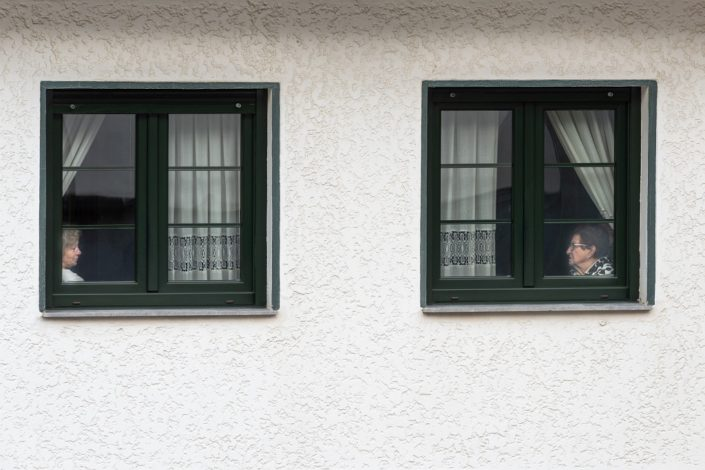 Two Windows, Two Women