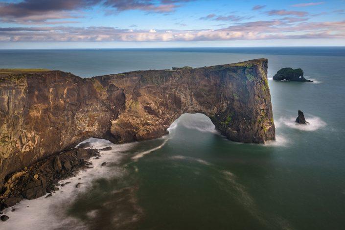 Dyrholaey Sea Arch