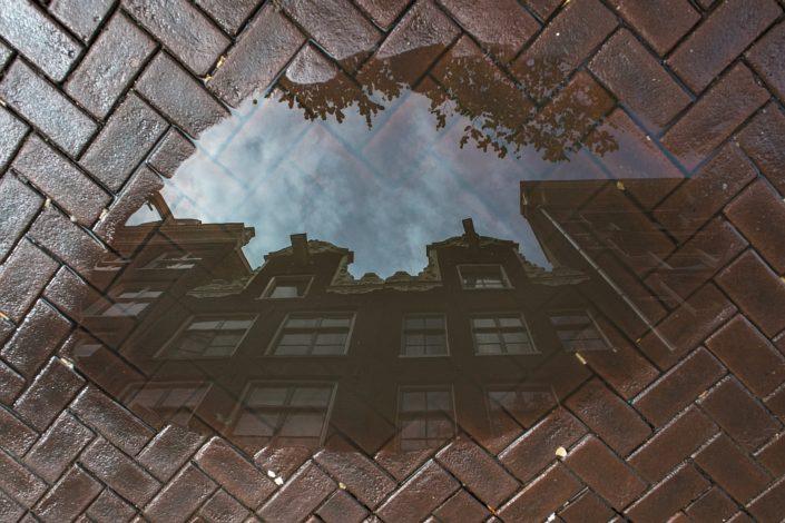 City in a cloud
