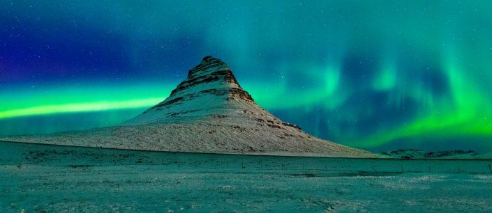 Kirkjufell Winter Aurora