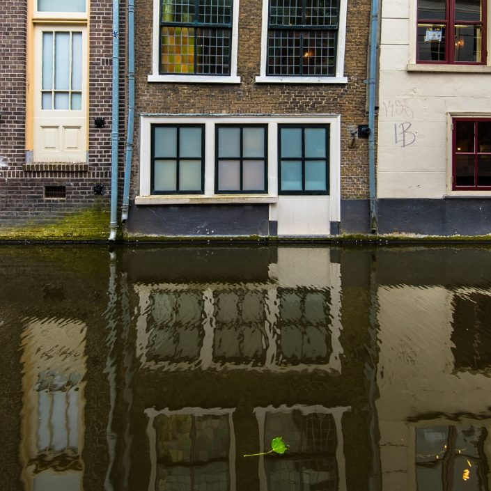 Delft Window Reflections
