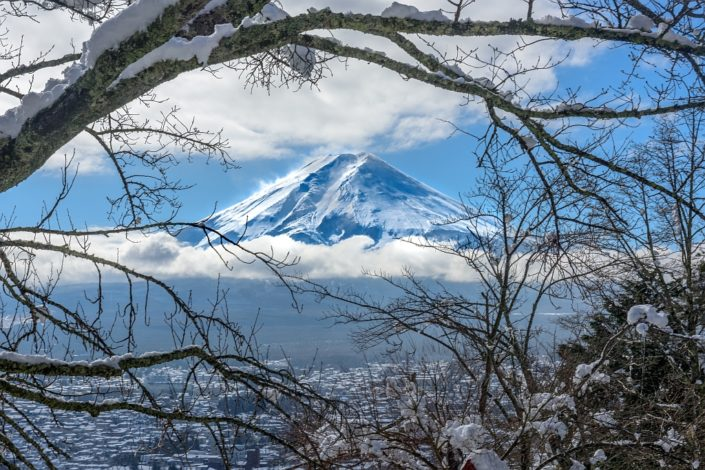 Fuji, Framed