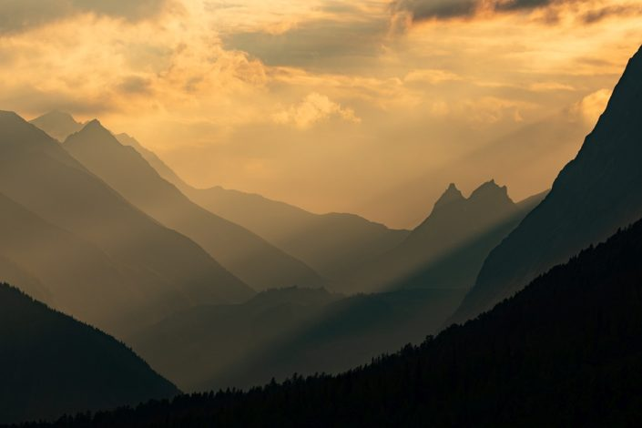 Val Ferret Sunset