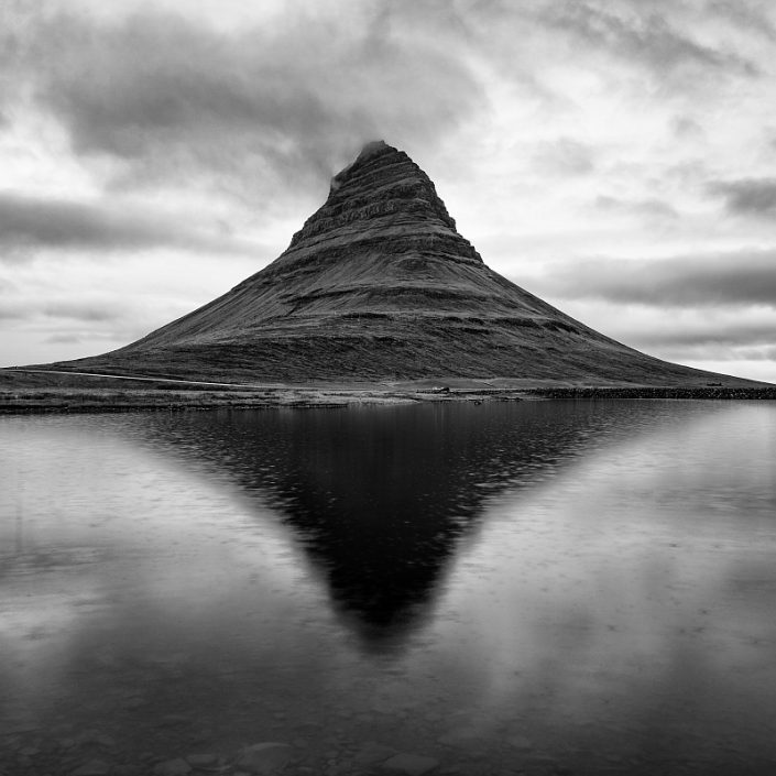 Kirkjufell in the Rain