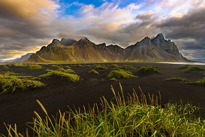 Vestrahorn from Stokksnes beach, Iceland