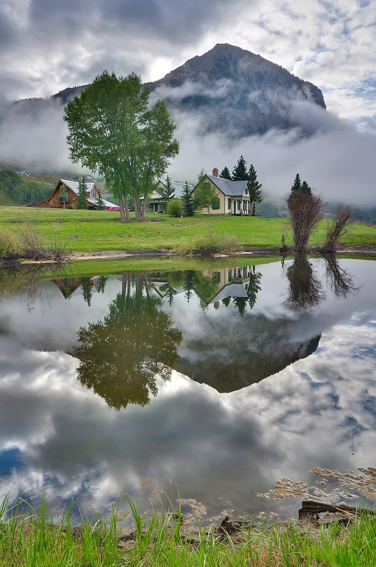 Morning Mist at Crested Butte 2