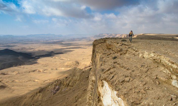 On the Brim of Makhtesh Ramon
