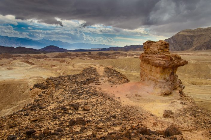 Timna Rock Pillar