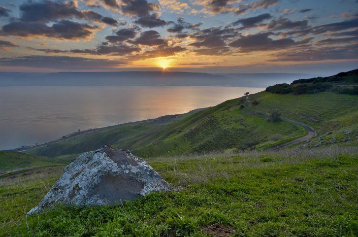 Sea of Galilee Sunrise 3