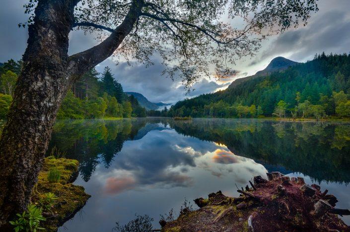 Glencoe Lochan Morning