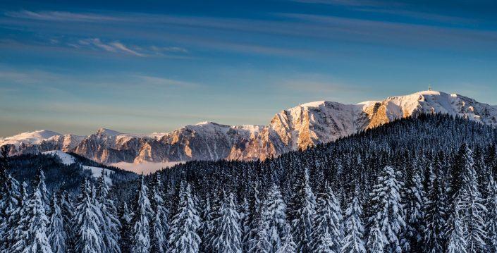 Wintery Sunrise on Mount Costila