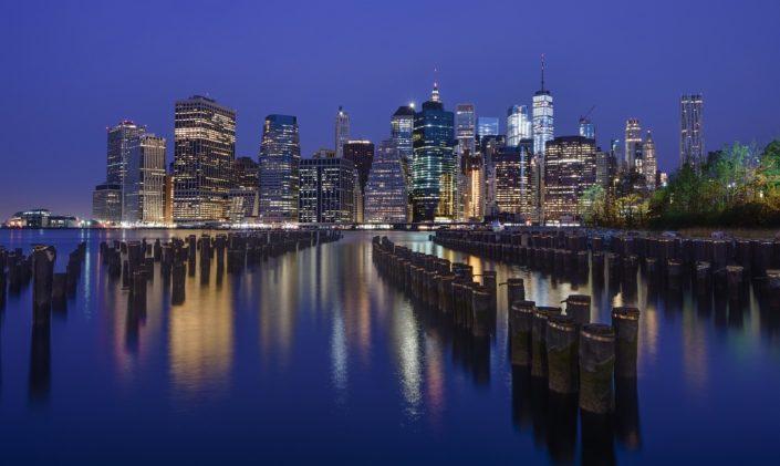 Manhattan Dawn Skyline