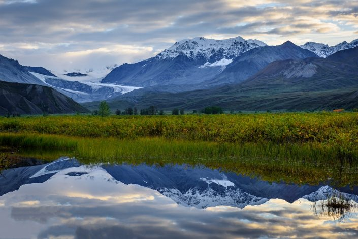 Gulkana Glacier Valley Dawn