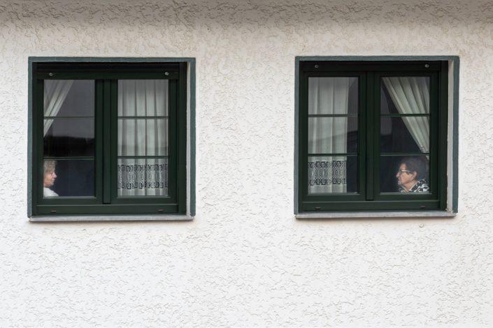 Two Windows, Two Women