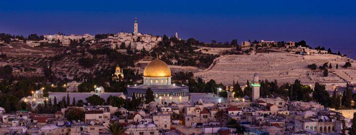 Jerusalem Dusk
